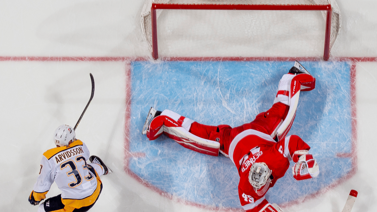Peterson's Saturday NHL: Detroit Red Wings vs Carolina Hurricanes, Tampa Bay Lightning vs Nashville Predators