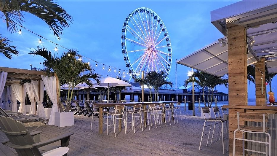 The Casino File: Outdoor bars opening back up in Atlantic City; a new Resorts steakhouse; Tropicana fireworks