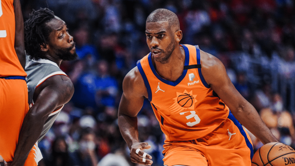 Monday NBA Playoffs Props: Fats picks Devin Booker, Chris Paul, Paul George, Deandre Ayton, sees Suns shining