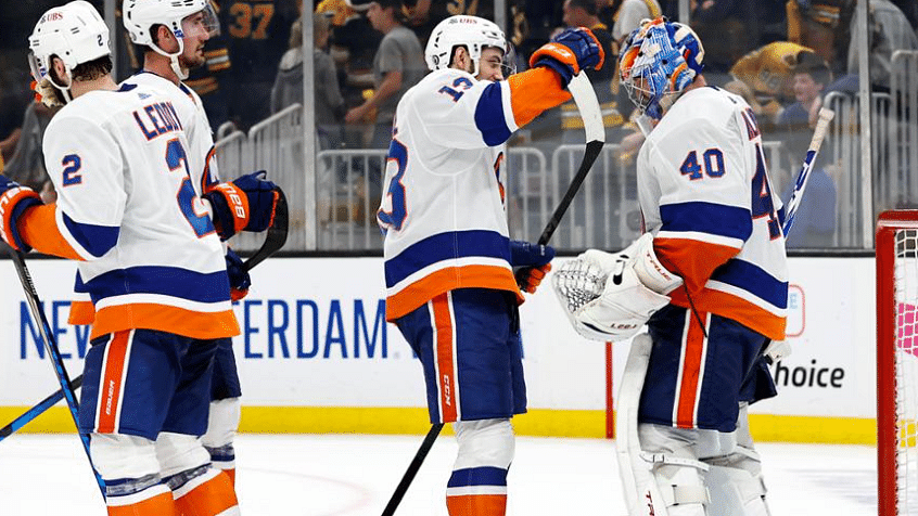 Wednesday NHL Playoffs: Thiessen picks Boston Bruins at New York Islanders as Isles look to clinch