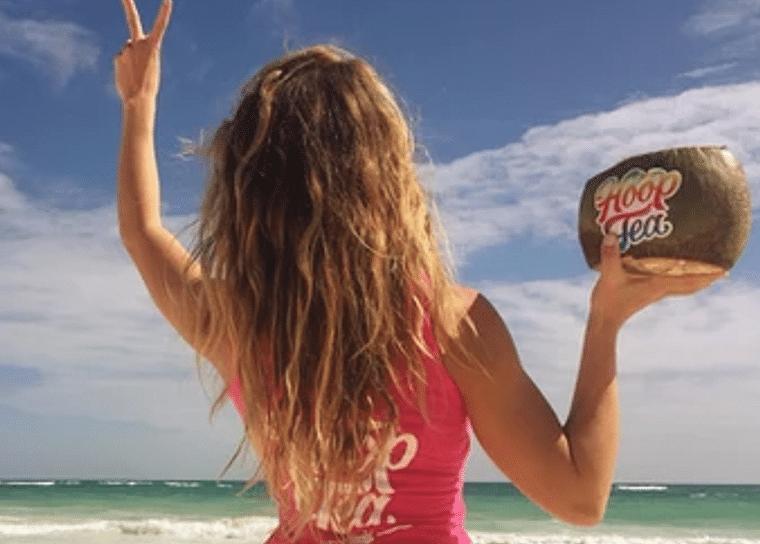 Hoop Tea is a beach favorite.
