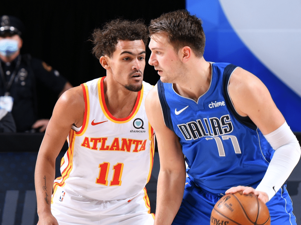 Trae Young and Luka Doncic: Probably not the best matchup for either player.