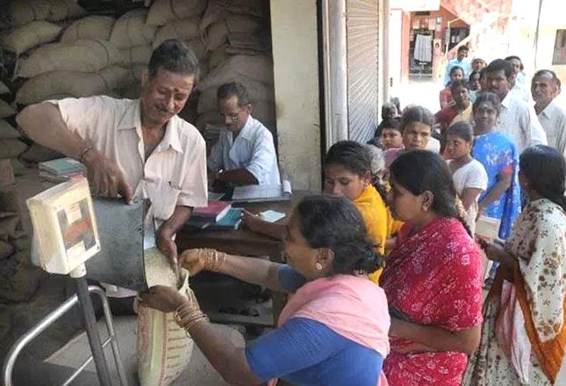 ரேஷன் கடைகள் இன்று முதல் செயல்படும்: தமிழக அரசு அறிவிப்பு