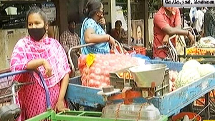 சென்னையில் மட்டும் கூடுதலாக 7000 காய்கறி வண்டிகளுக்கு அனுமதி!