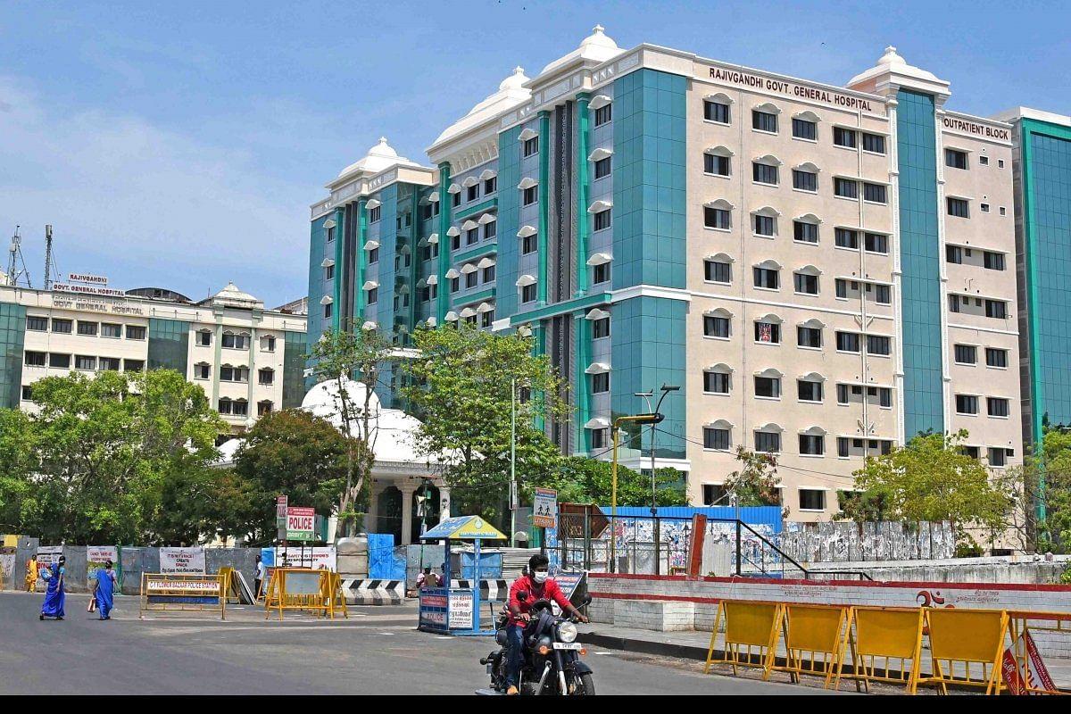 ஆக்சிஜன் படுக்கை காலியில்லை: சென்னை ராஜீவ்காந்தி மருத்துவமனையில் 3 நோயாளிகள் உயிரிழப்பு