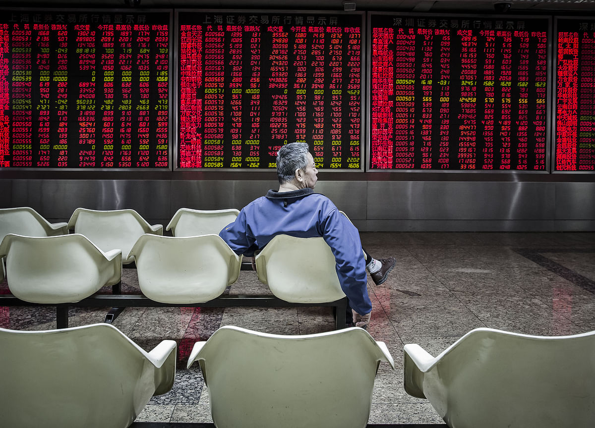 China's Stocks, Bonds, Currency Drop in Unison Before Congress