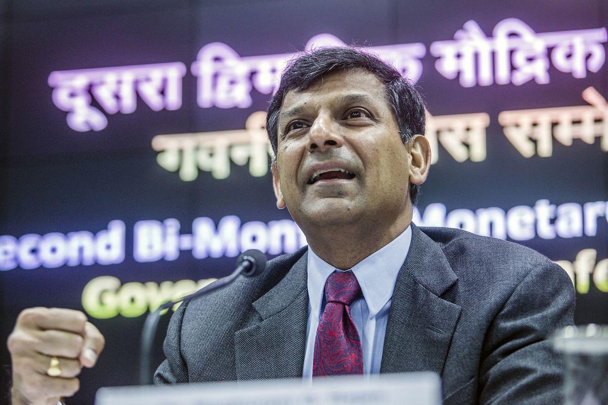 RBI Governor Raghuram Rajan will present his last monetary policy on Aug. 9. as his term ends in Sept. (Photographer: Prashanth Vishwanathan/Bloomberg)