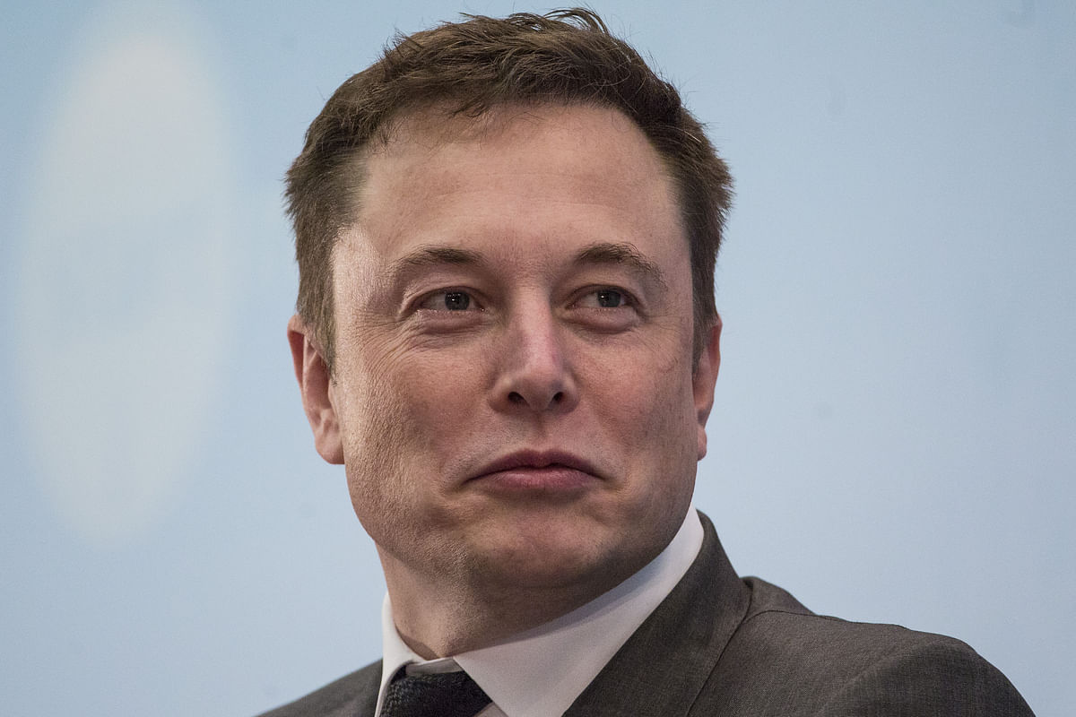 Tesla Motors and Space X CEO, Elon Musk (Photographer: Justin Chin/Bloomberg)