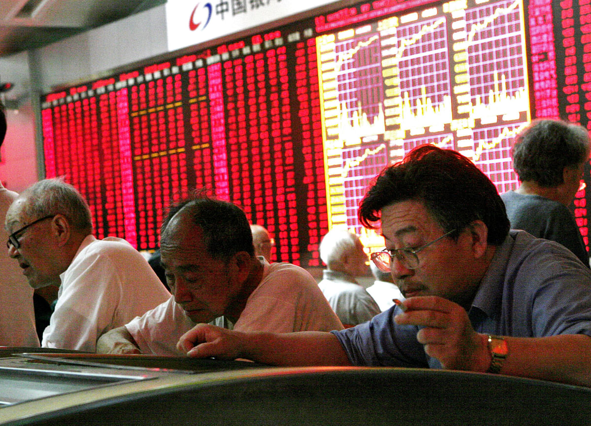 China Euphoria Spurs Rally Before Gains Are Trimmed
