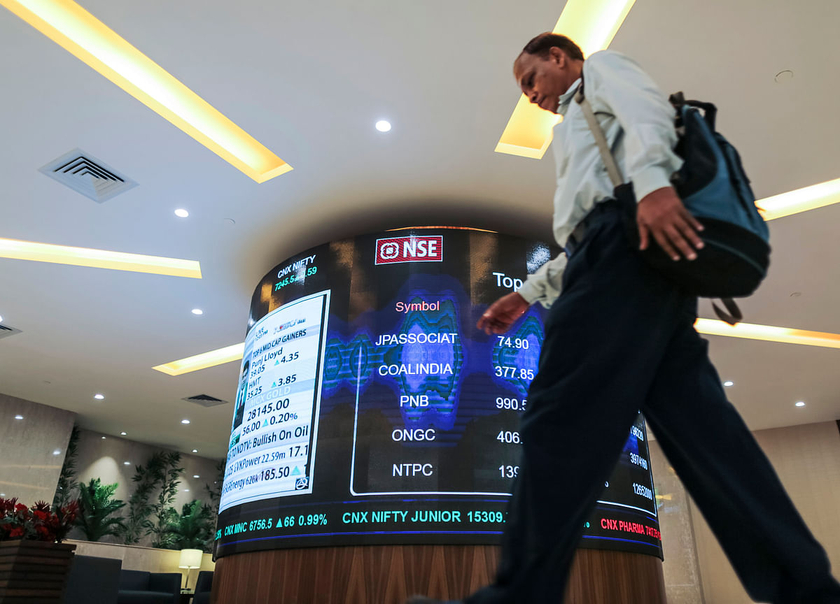 Sensex, Nifty End Volatile Session Higher Led By HDFC Twins, ICICI Bank