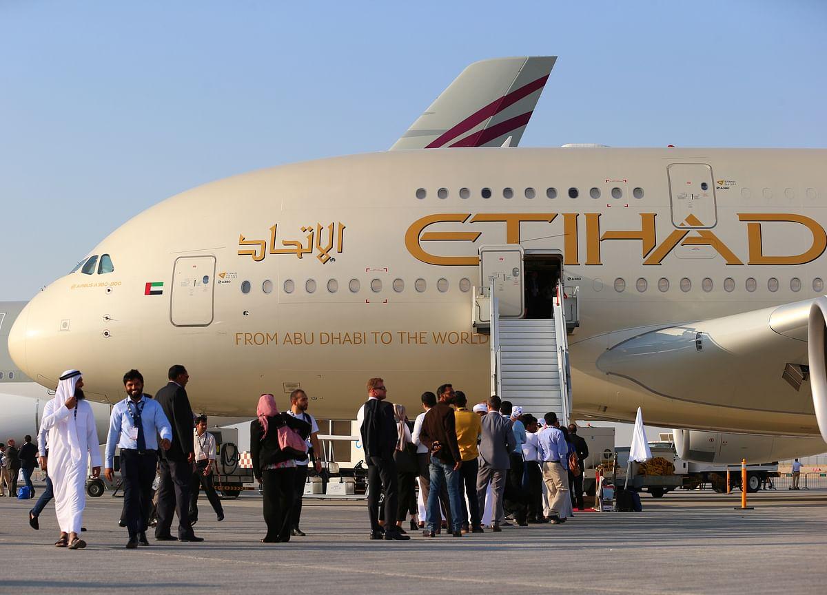 Etihad Airwaysto Seek $600 Million Loan for Planes