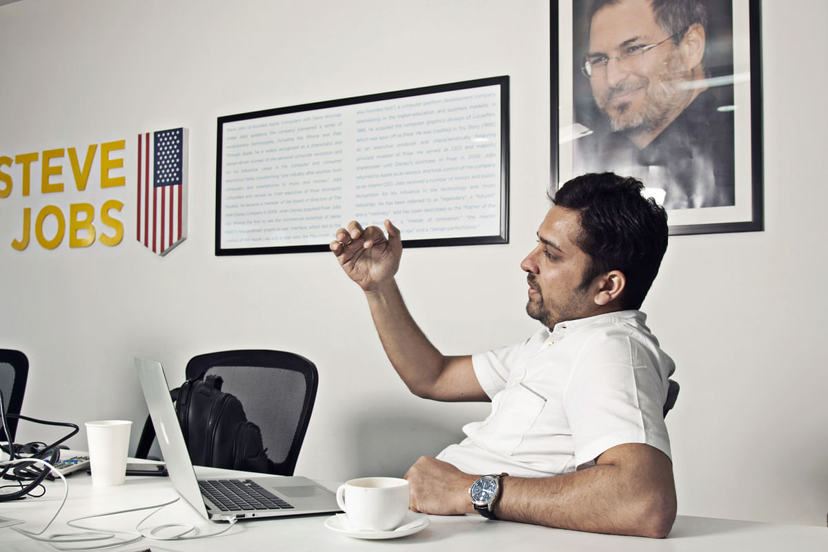 Binny Bansal, CEO, Flipkart Ltd. (Photographer: Namas Bhojani/Bloomberg)