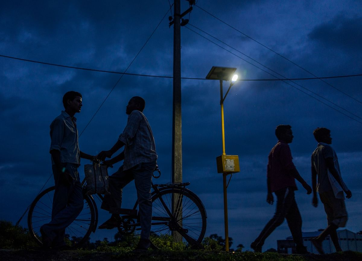 Night Lights Tell The Story Of Dimming Economic Activity Across India