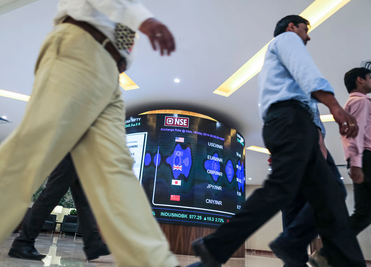 Stocks Erase Early Gains as ICICI Bank, L&T Drag Sensex Lower
