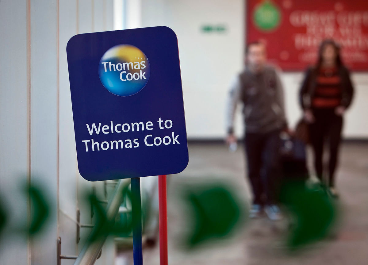 Thomas Cook Collapse Hits Shares of Indian Company It Once Owned