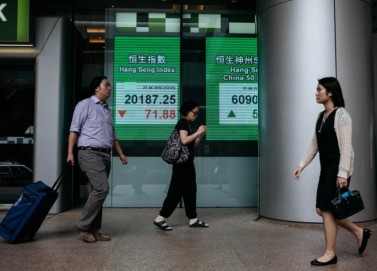 Hong Kong Stocks Pare Gain as Mainland Investors Turn Sellers