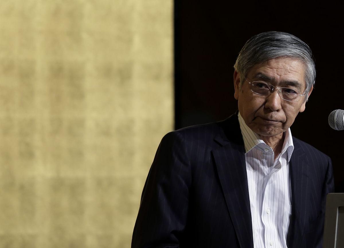 BOJ's Kuroda Joins Queue of Central Banks Looking Toward Exit