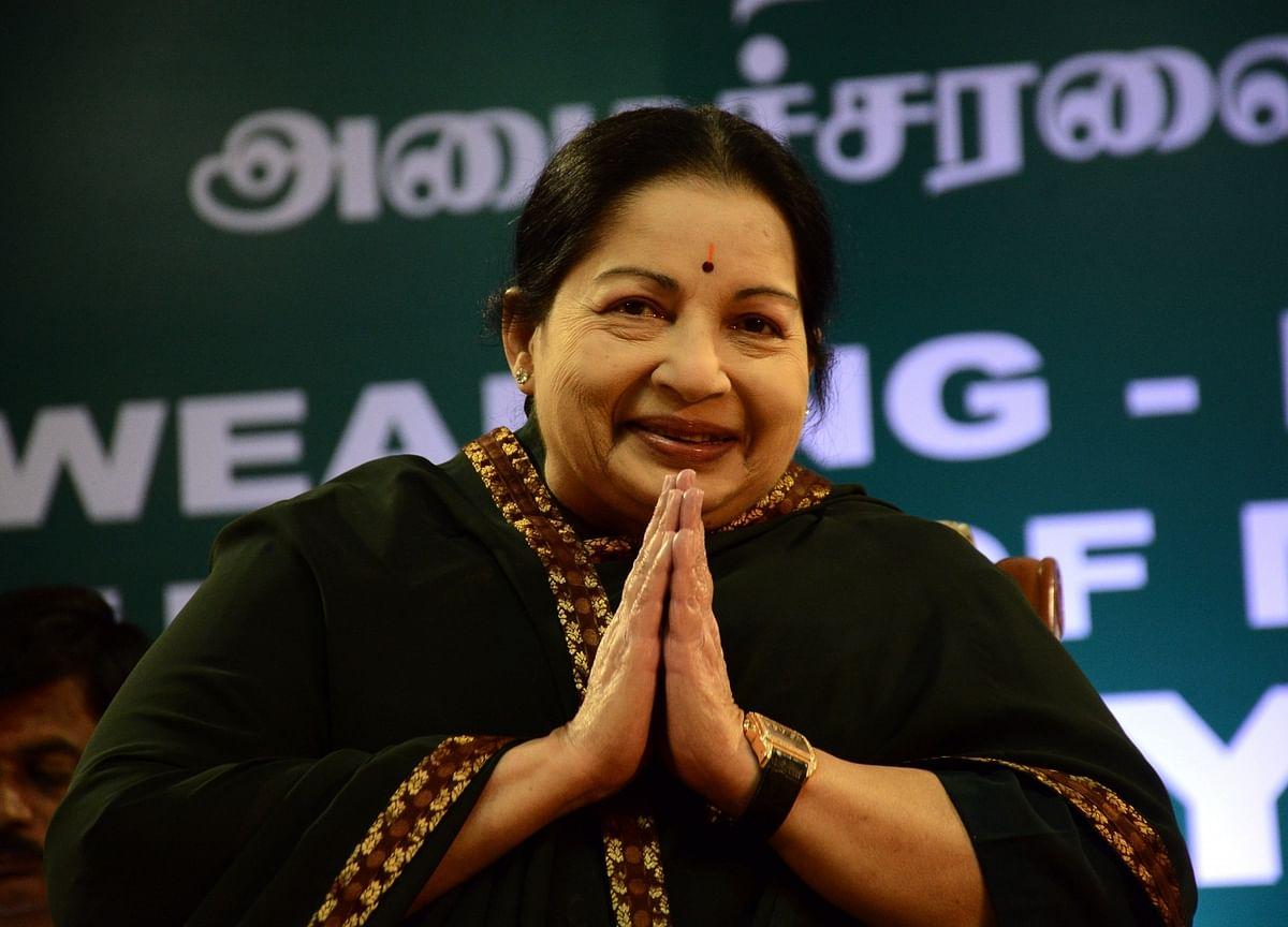 Tamil Nadu CM Jayalalithaa Hospitalised With Fever and Dehydration