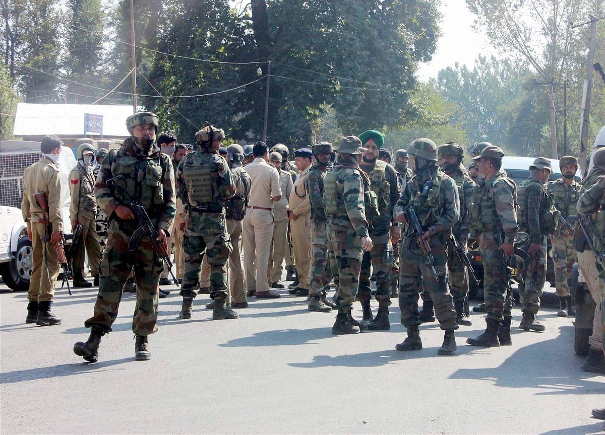 Five CRPF Men Killed In Terror Strike At  Anantnag In Jammu And Kashmir
