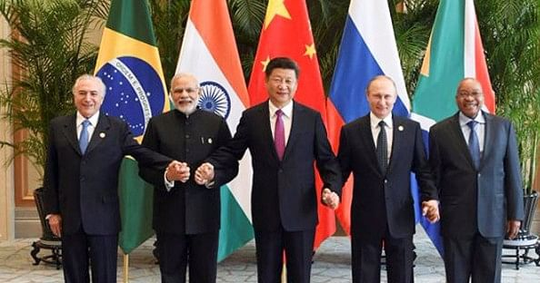 The heads of state of the five BRICS Nations (Source: BRICS 2016 website)