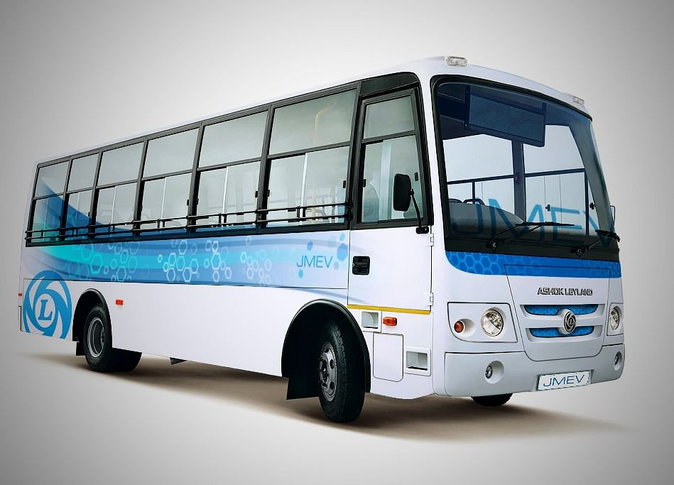 Ashok Leyland Unveils First Electric Bus Completely Made In India