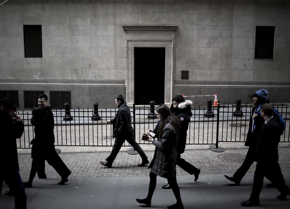 Stocks Mixed, Treasuries Decline as Fed Stands Pat: Markets Wrap
