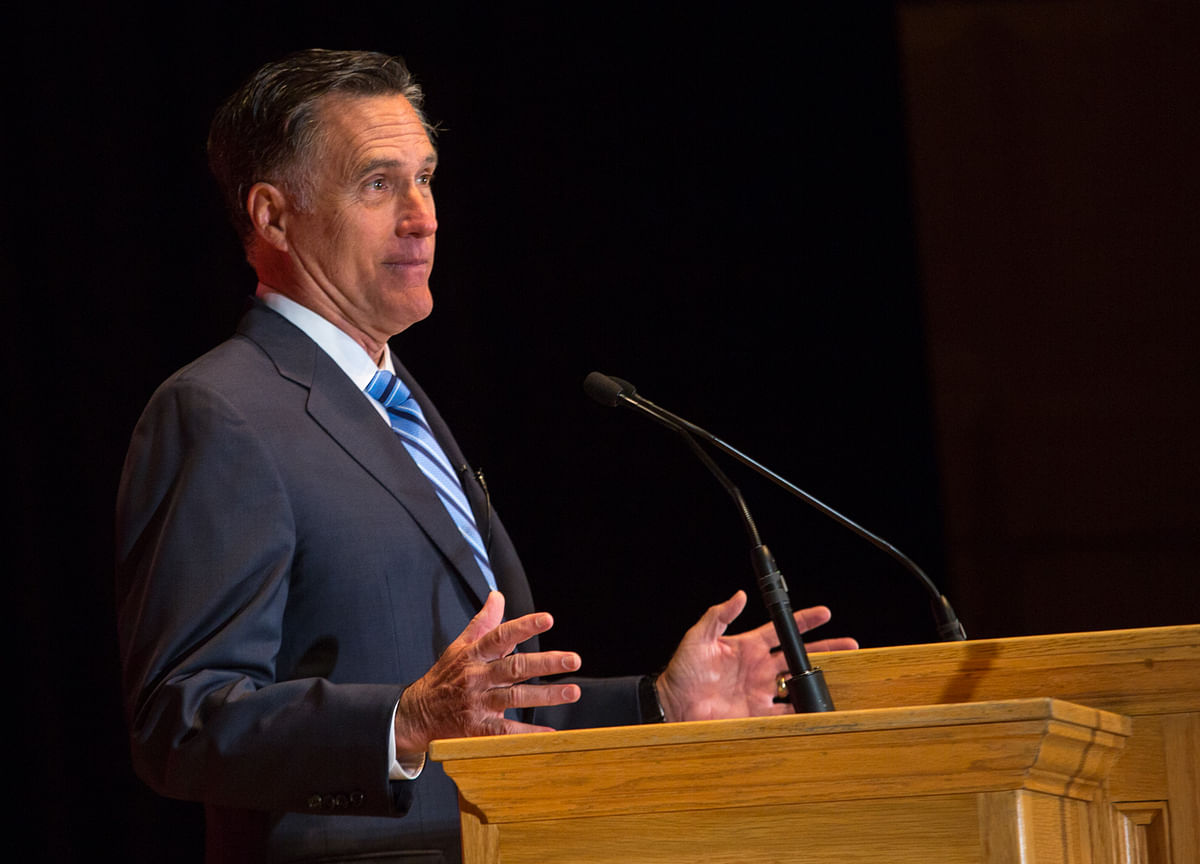 Mitt Romney Is Running for a Job He Probably Won't Hold Long