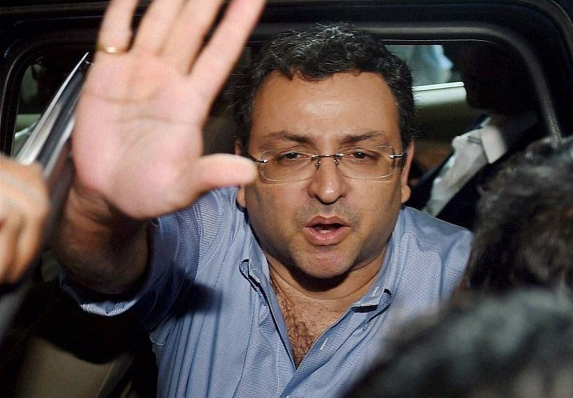 Ousted Tata Sons Chairman, Cyrus Mistry arrives at Bombay House for a board meeting in Mumbai, on Nov. 4, 2016. (Photograph: PTI)