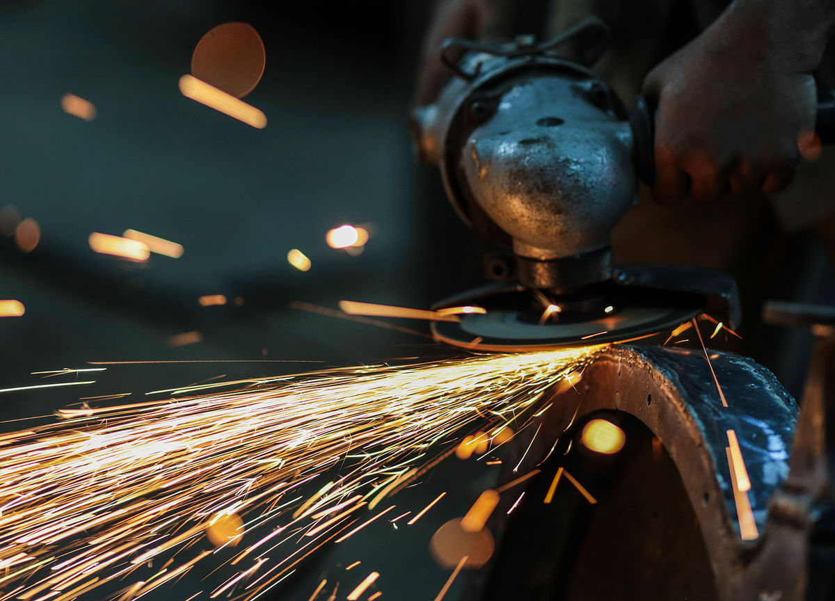 India's Core Sector Output Shrinks 5.8% In October, Lowest In Over A Decade