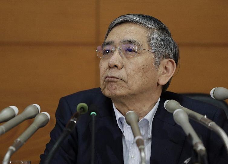Kuroda Says BOJ Will Be Thinking About Exit Around 2019