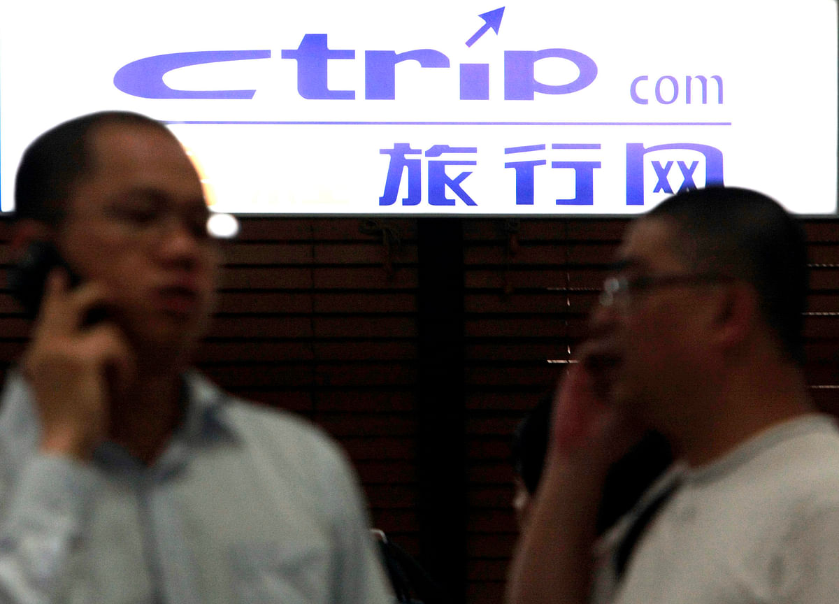 China's Travel Giant Ctrip Now Owns Almost Half Of MakeMyTrip