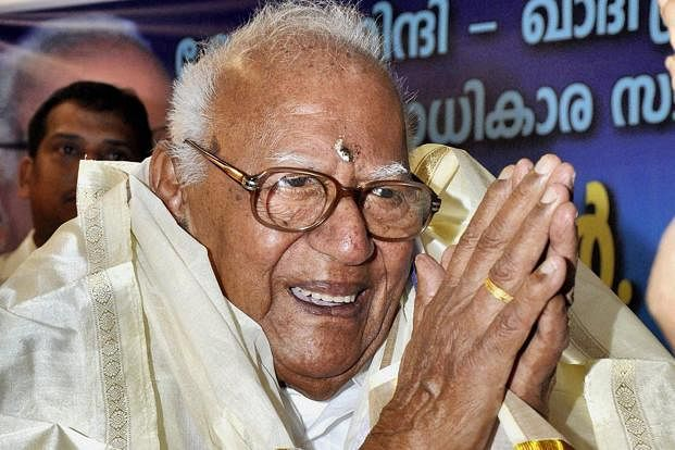 A file photo of Justice VR Krishna Iyer (Photograph: PTI)