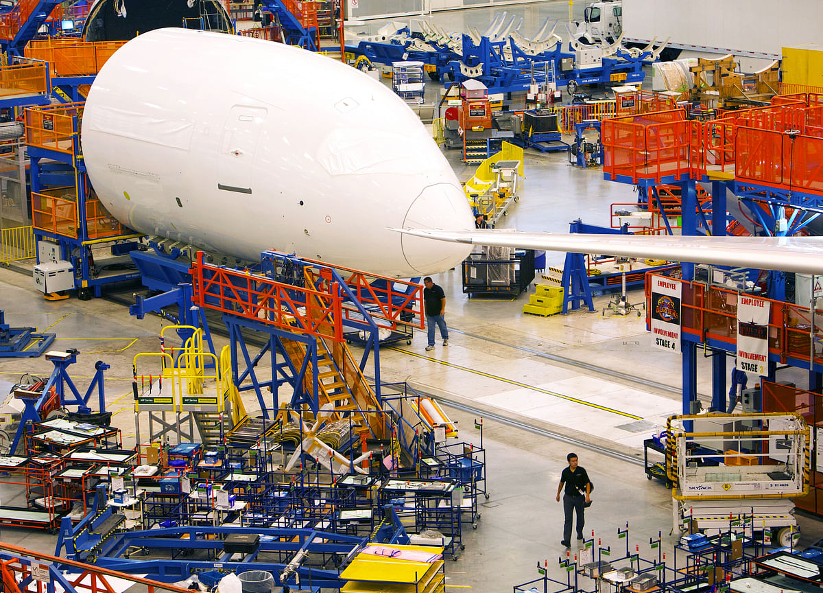 U.S. Delves Into 787 Factory Issues as Boeing Probe Expands