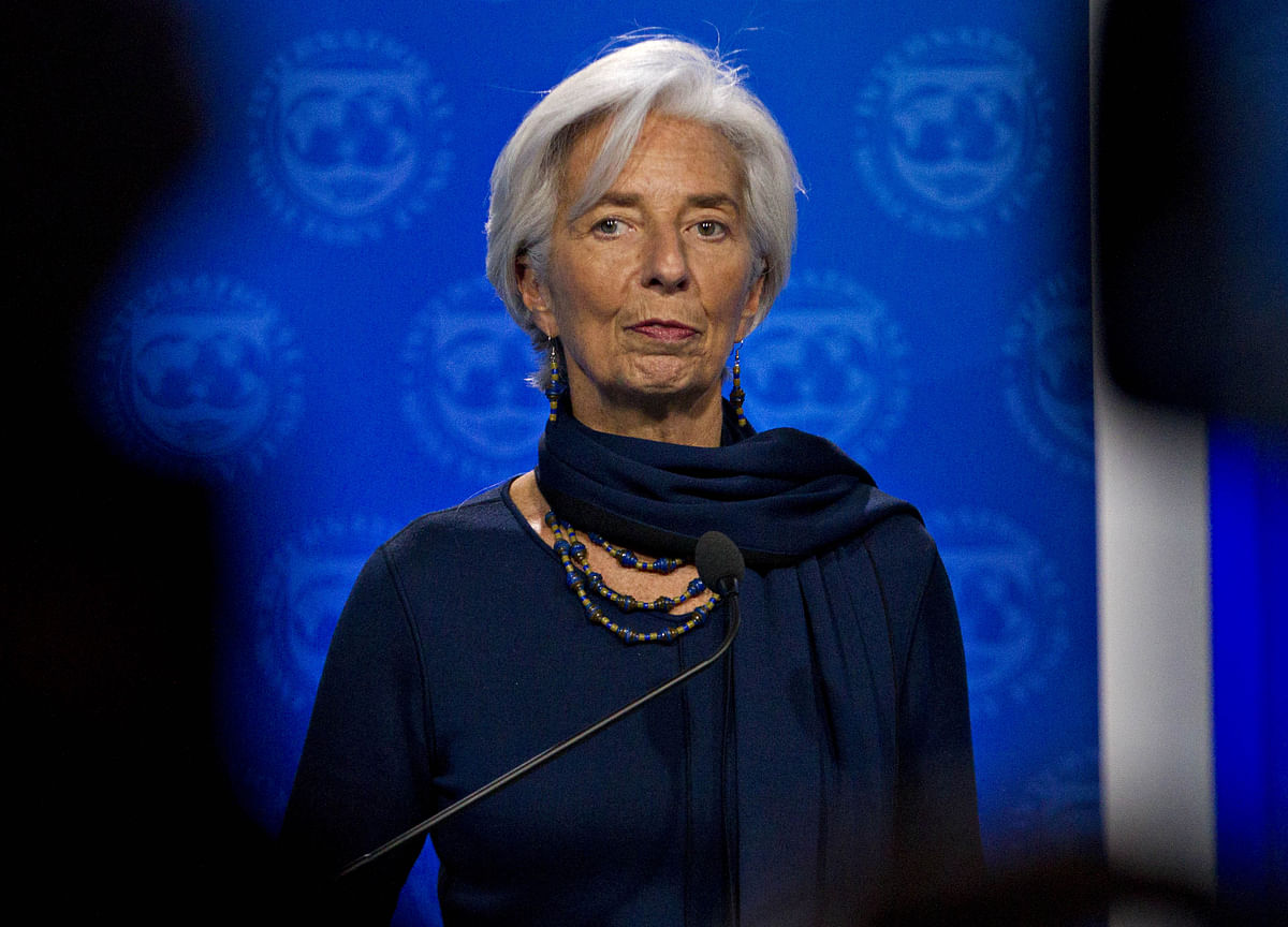Lagarde Sees Darker Clouds Over World Economy After G-7 Tiff