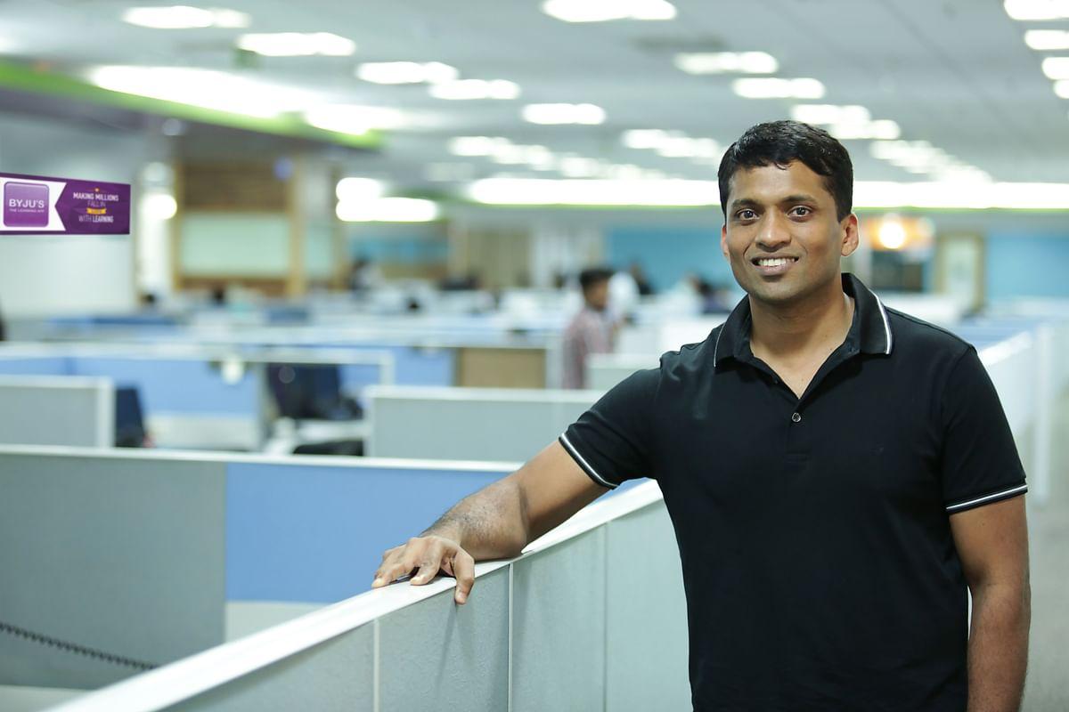 Byju Raveendran, Founder & CEO of Byju's. (Source: Byju's)