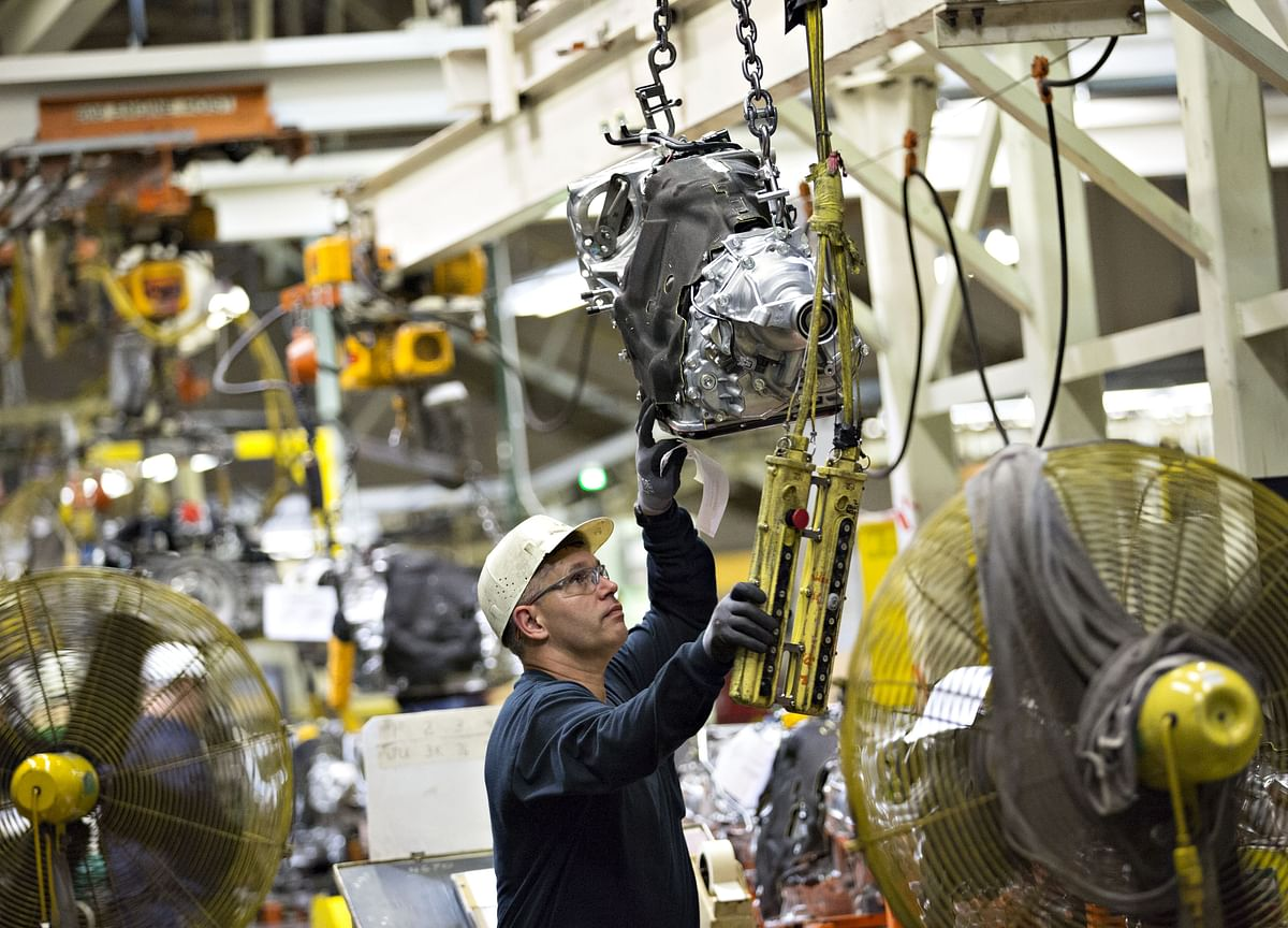 Factory Output in U.S. Rises Less Than Forecast, Dented by Ida