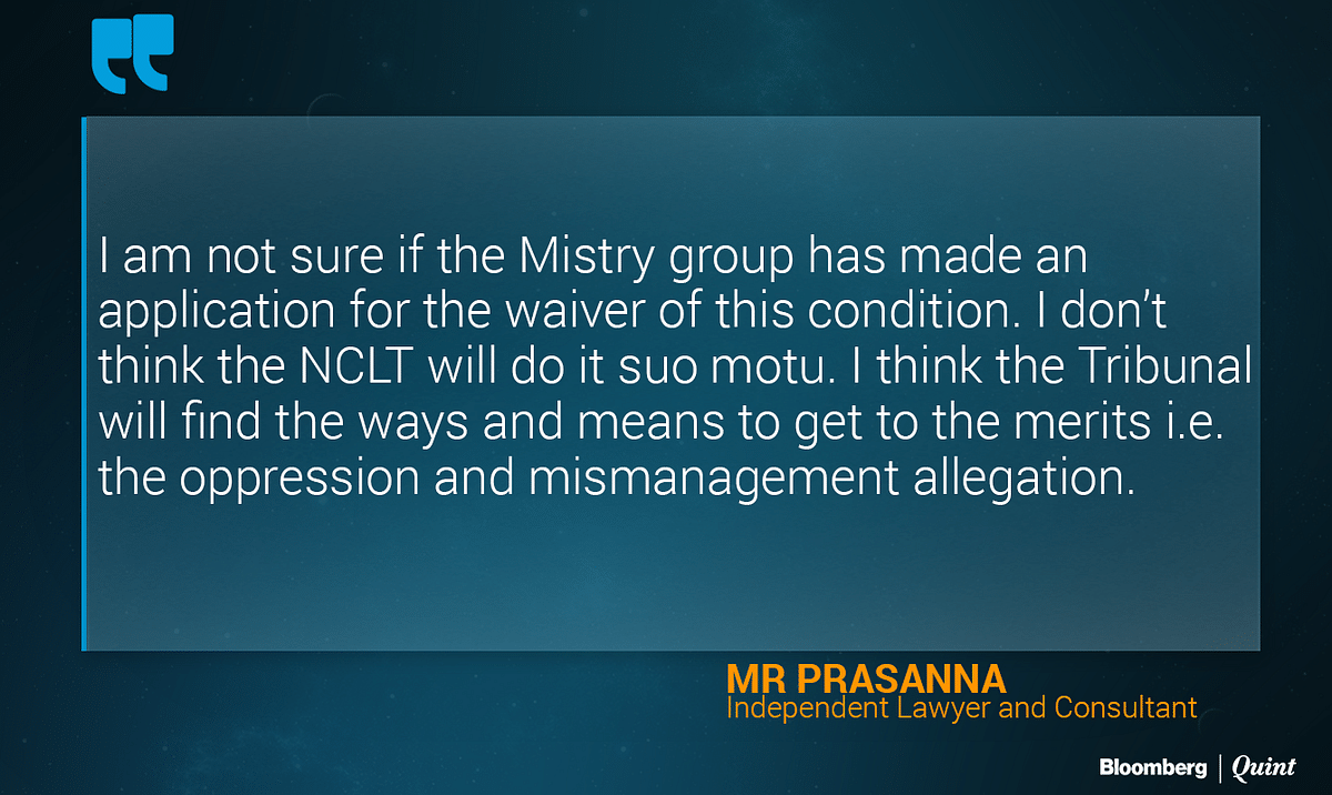 Will Cyrus Mistry's Legal Battle Against Tata Sons End Before It Begins?