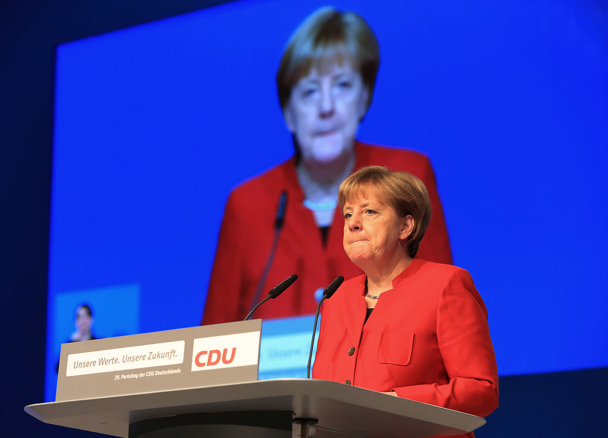 Merkel Urges Europe to Step Up in Trump's New World Order