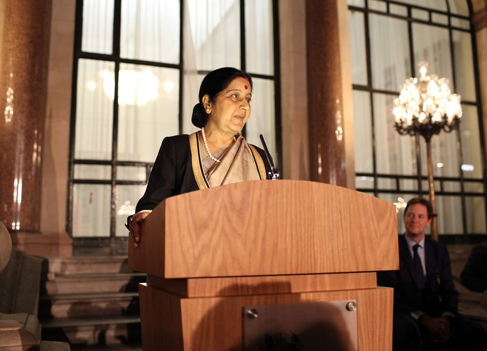 Swaraj, Prolific Orator And Indian People's Minister, Dies at 67
