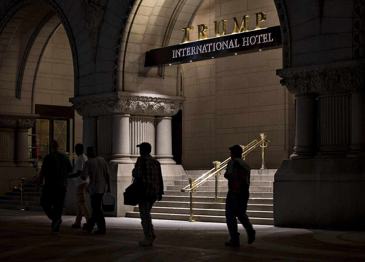 Trump's DC Hotel Tagged With $5 Million in Unpaid Worker Liens