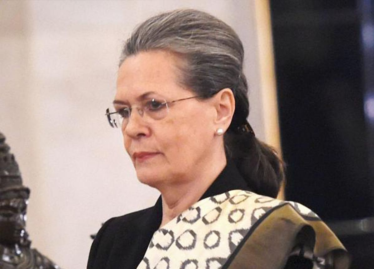Sonia Gandhi To Be Congress Party's Interim President