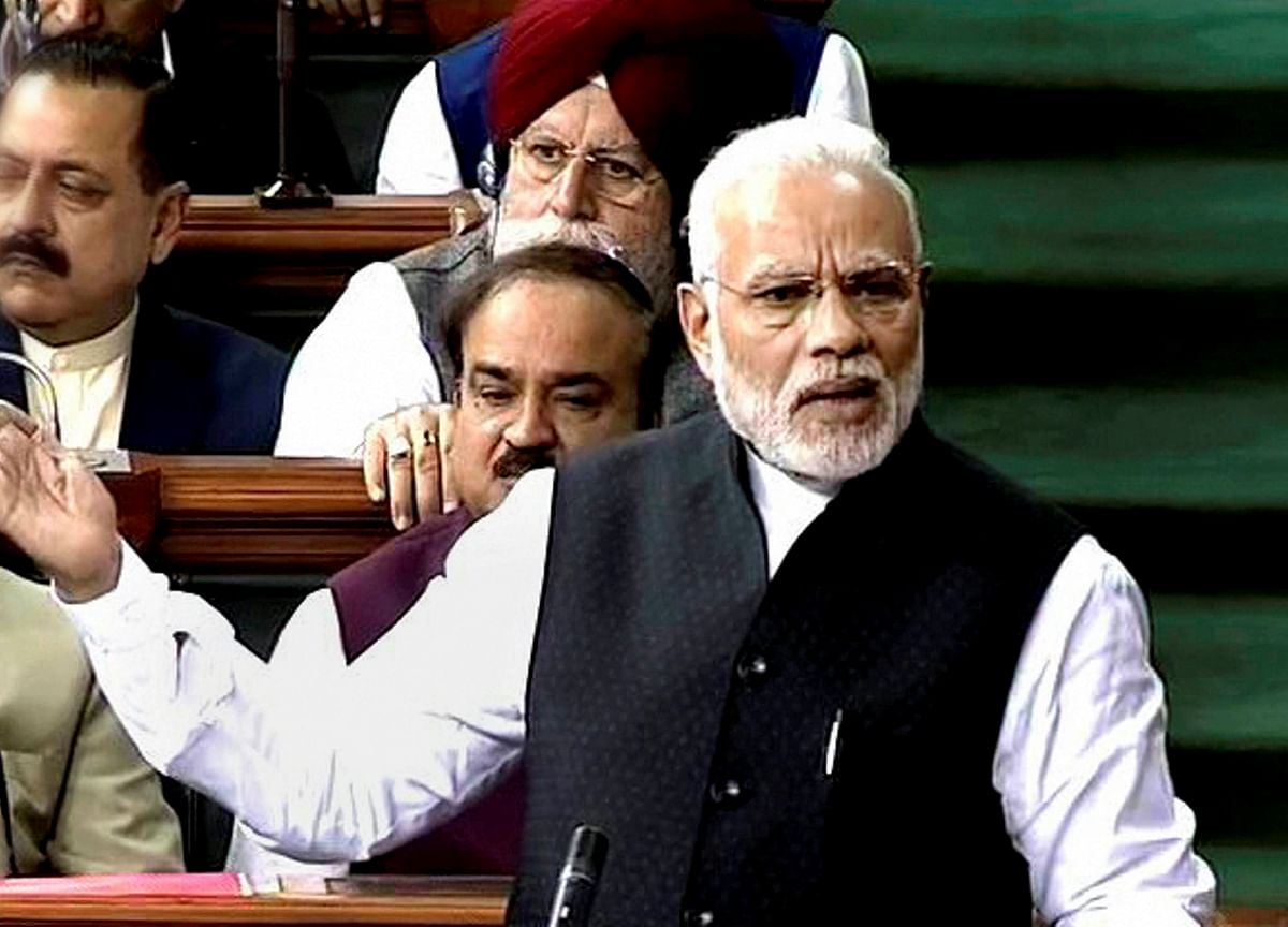 National Security Is A Punching Bag For Congress: PM Narendra Modi