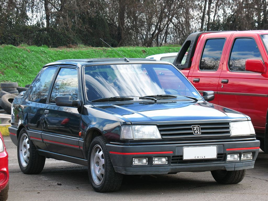 The Peugeot 309 GTi 1990. (Source: raul/Flickr)