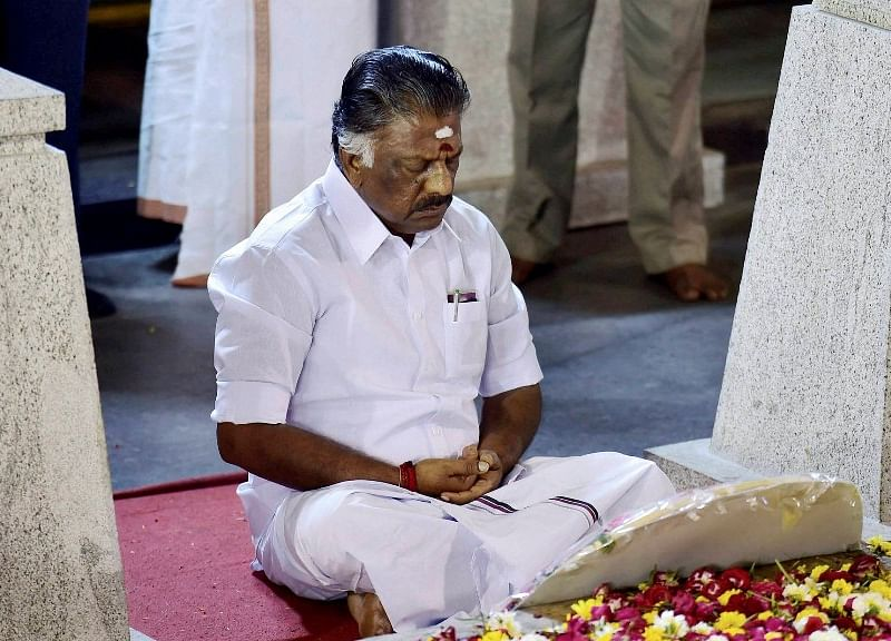 How Panneerselvam Gained Mass Appeal In Tamil Nadu With A Single Speech