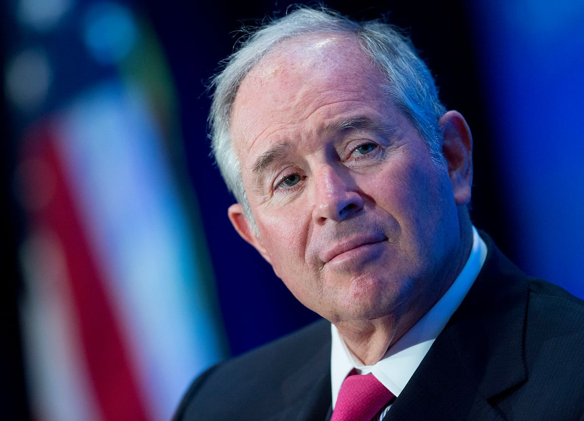 Schwarzman Says Trade Deal Shows Huge Change in U.S.-China Ties