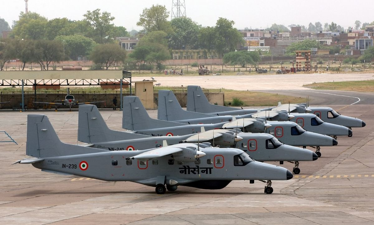 The Dornier 228 aircraft used by the Indian Navy (Source: HAL)