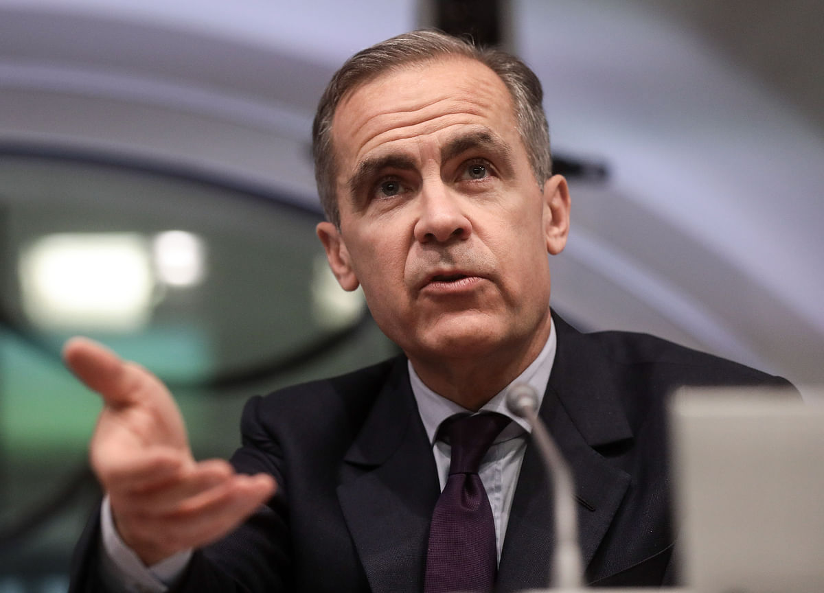 Carney Sees Significant Chance of Inflationary No-Deal Brexit