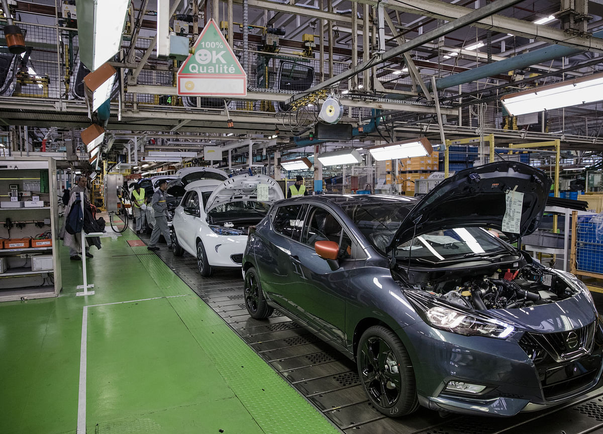 Nissan to Deepen Job Cuts to 10,000 Worldwide, Kyodo Says