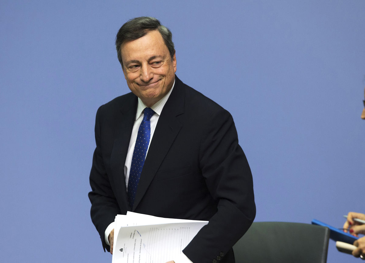 Draghi's Stimulus Shot Is No Cure for Europe's Japanification