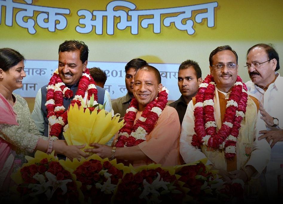 Yogi Adityanath Takes Over As Chief Minister Of  Uttar Pradesh